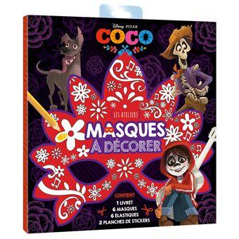 CocoCOCO - Les Ateliers Disney - Pochette - Masques à décorer