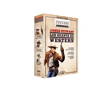 Coffret James Stewart DVD