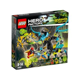 Lego hero factory 44029 queen contre furno evo et stormer lego achat prix fnac - Lego hero factory jeux ...
