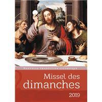 Missel des dimanches 2019 - Nouvelle traduction lithurgique