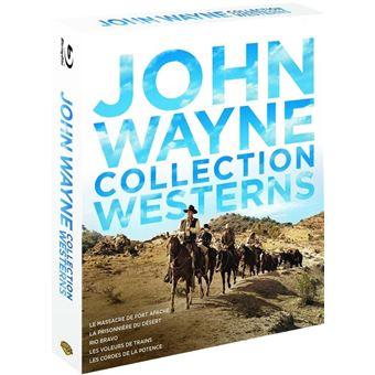Collection Westerns John Wayne Coffret Blu-ray