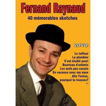 Fernand Raynaud : 40 Mémorables sketches DVD
