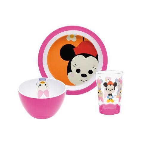 Assiette Disney Zak!designs Set enfant 3 pièces Minnie