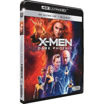 X-MenX-Men : Dark Phoenix Blu-ray 4K Ultra HD