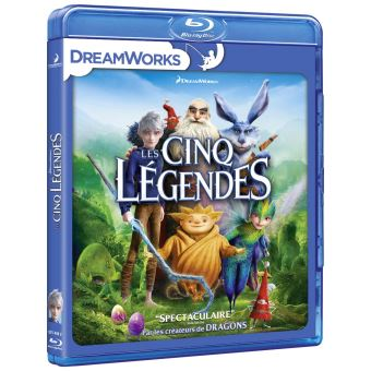 Les Cinq légendes Blu-ray
