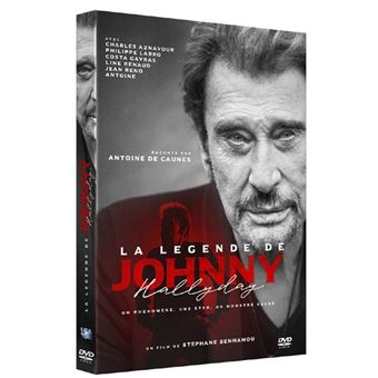 La Légende de Johnny Hallyday DVD
