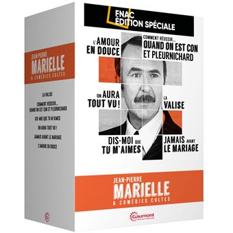 Coffret Jean-Pierre Marielle 6 Comédies Cultes Edition Spéciale Fnac DVD