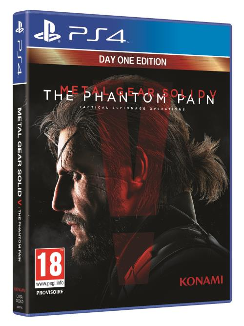 Metal Gear Solid 5 :The Phantom Pain Day One Edition PS4
