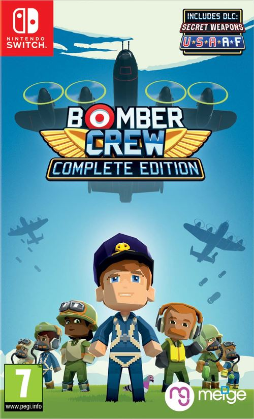 Bomber Crew Edition Complète Nintendo Switch