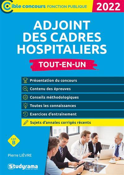 Adjoint de cadre hospitalier catégorie B