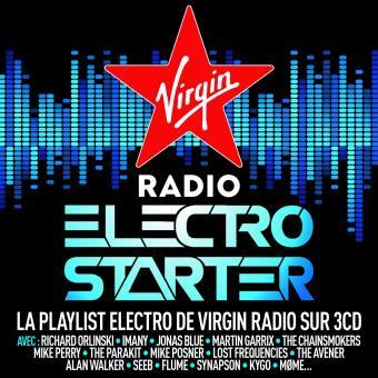 virgin radio electro starter 3 cd cd album en electro tous les disques la fnac. Black Bedroom Furniture Sets. Home Design Ideas