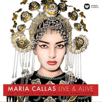 CALLAS-LIVE & ALIVE/LP