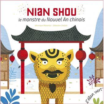 """Résultat de recherche d'images pour """"Nian Shou, le monstre du nouvel an chinois"""""""