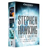 Coffret Tout l'univers de Stephen Hawking DVD