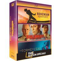 Coffret Bohemian Rhapsody, 3 Billboards et La Forme de l'eau Edition Spéciale Fnac Blu-ray