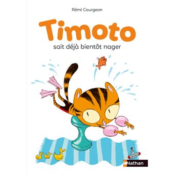 Timoto sait déjà bientôt nager