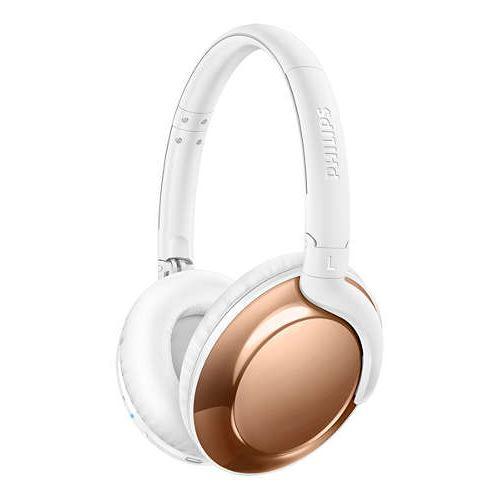 Casque Bluetooth Philips Flite Everlite SHB4805 Rose Or