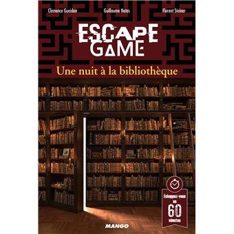 Escape Game Une Nuit A La Bibliotheque