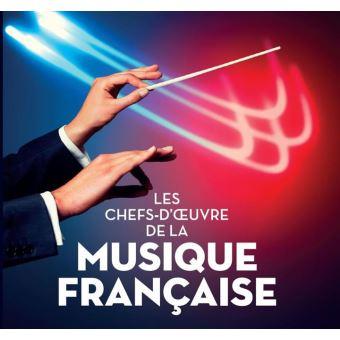 Les Chefs-d'œuvre de la musique française Coffret Digipack
