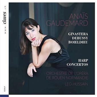 Anaïs Gaudemard joue Ginastera, Debussy et Boieldieu : Concertos pour harpe