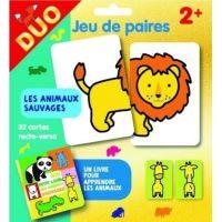 Les animaux sauvages - Pochette duo - Jeu de paires 2+