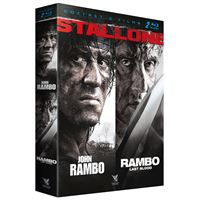 Coffret Rambo : Last Blood et John Rambo Blu-ray