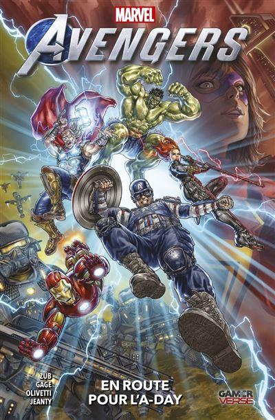 Avengers : En route pour l'A-day - 9782809494426 - 11,99 €