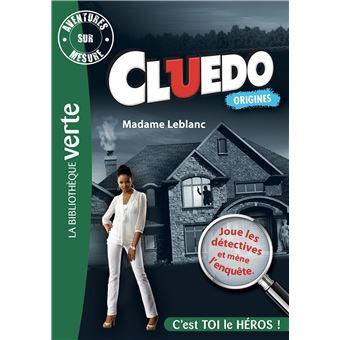 CluedoAventures sur Mesure Cluedo 06 - Madame Leblanc