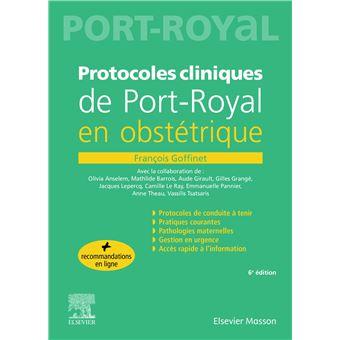 Protocoles cliniques de Port-royal en obstétrique