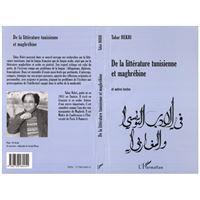 De la litterature tunisienne et maghrebine
