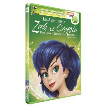 Les aventures de Zak et Crysta Sélection Gulli DVD