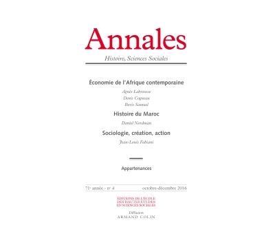 Annales histoire, sciences sociales