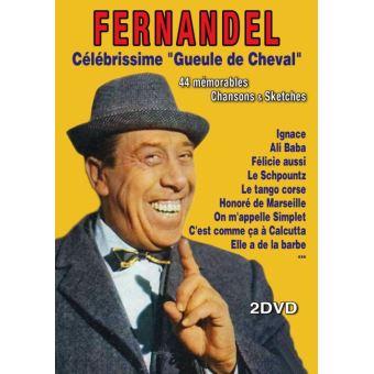 Fernandel : 44 Mémorables chansons et sketches DVD