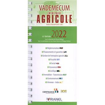 Vademecum De L Entreprise Agricole 2020 Edition 2019 Broche Cerfrance Achat Livre Fnac