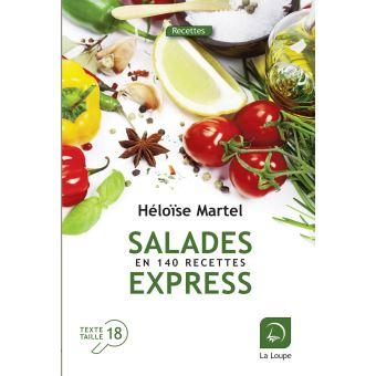 Salades express en 140 recettes