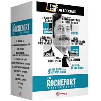 Coffret Jean Rochefort 12 Comédies Cultes Edition Spéciale Fnac DVD