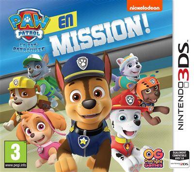 Pat'Patrouille en mission Nintendo 3DS