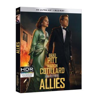 Alliés Blu-ray 4K Ultra HD