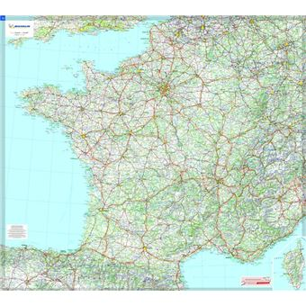 carte routière michelin france France (carte plastifiee   sous gaine) 1/1000000   broché