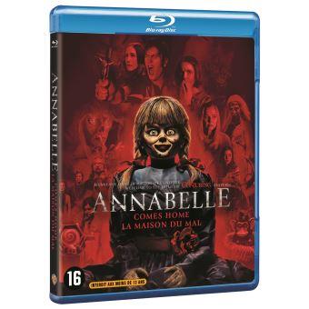 AnnabelleAnnabelle : La Maison du Mal Blu-ray