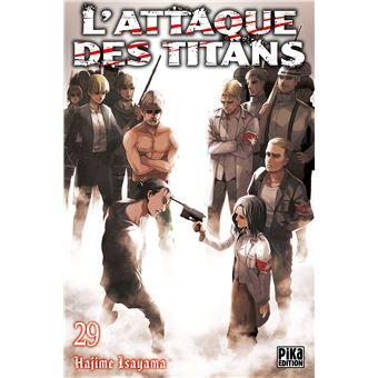 L'Attaque des Titans Tome 29 : L'Attaque des Titans