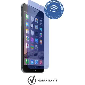 Protection d'écran Force Glass en verre trempé anti-bleu pour iPhone 6/6s
