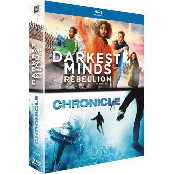 Coffret Darkest Minds : Rébellion et Chronicle Blu-ray