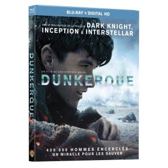 Dunkerque Blu-ray