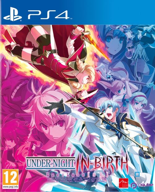 Under Night In-birth Exe : Late CL-R PS4