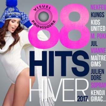88 hits hiver/4 cd/multipack