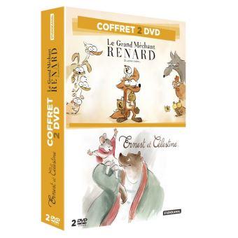 Coffret Le Grand Méchant Renard et Ernest et Célestine DVD