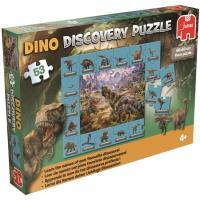 DINOSAUR - DISCOVERY PUZZLE (53 PCS)
