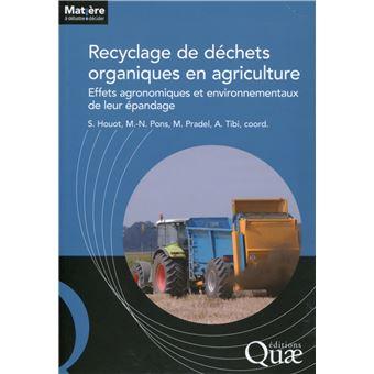 Recyclage des déchets organiques en agriculture