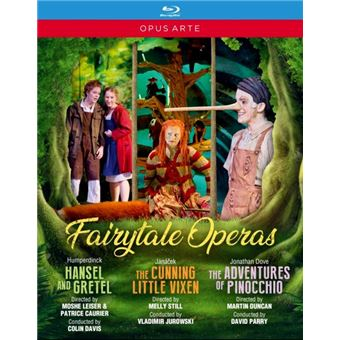 FAIRYTALE OPERAS/BLURAY
